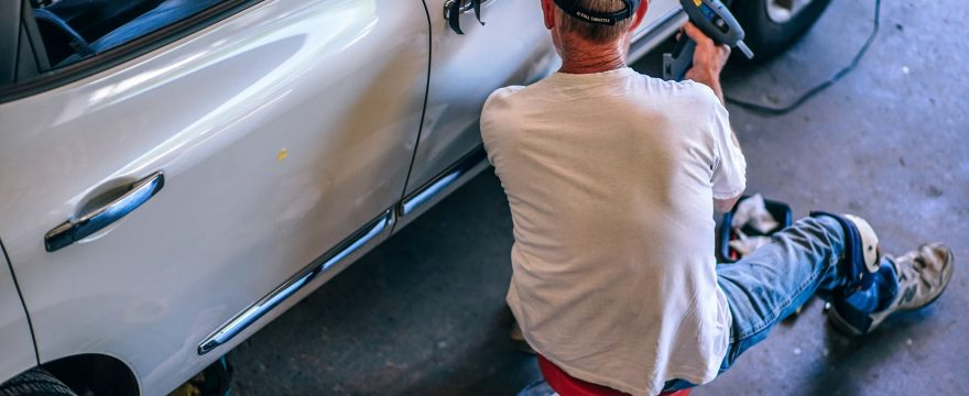 How to fix a Keyed car