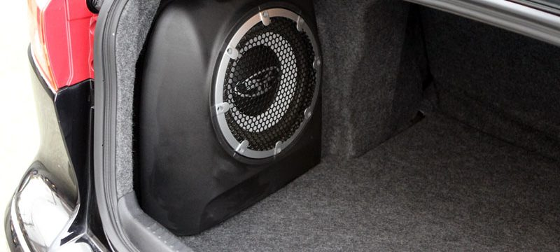 Best powered subwoofer car